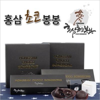 [홍삼 농축액이 들어 있는 초콜릿] 홍삼초코봉봉 12EA