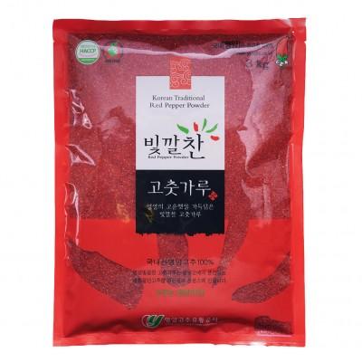 [영양고추유통공사] 빛깔찬 고춧가루 3kg 매운맛 (2020년산)