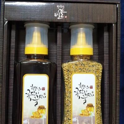[황문점의꽃단지꿀단지] 꿀벌화분&야생화꿀 선물세트