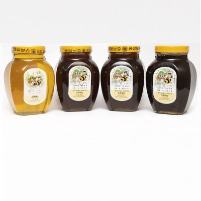 토함산 꿀벌세상 천연꿀 2.4kg