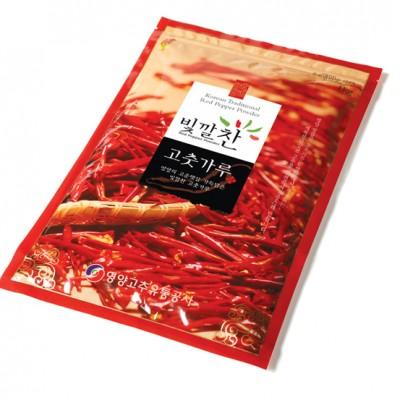 [영양고추유통공사] 빛깔찬 고춧가루 1kg 보통맛/매운맛 선택 (2020년산)