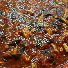 [하늘기둥농장] 경상도식 무말랭이김치 곤짠지 1 kg