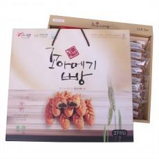 [자연스레] 포항꼬아메기빵27개입1BOX 특산품 찰보리빵 과메기빵