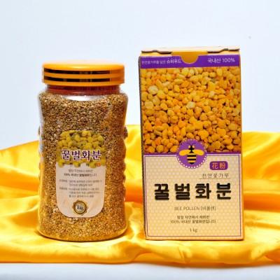 [황명지삼] 소백산벌꿀 천연 순수 벌화분 1kg