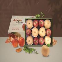 김천농협 프리미엄 사과 배 과일선물세트 설명절 제수용 5kg/6.5kg/7.5kg