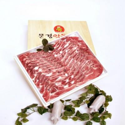 문경약돌돼지 구이용갈비2kg(냉동)