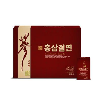 [풍기특산물영농조합법인] 홍삼절편A10본