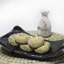 모꼬지떡 아침식사대용 찰보리 쑥 찹쌀떡 16알 세트