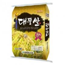 [대풍영농조합법인] 2019년 햅쌀 대풍쌀 20kg / 미강(쌀겨) 500g 증정