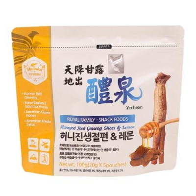 [예천푸드바이오] 100% 고려홍삼절편 허니진생절편 & 레몬