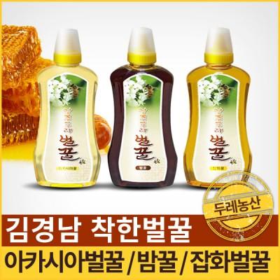 [두레곶감] 두레농산 착한벌꿀SET-아카시아꿀+밤꿈+잡화꿀