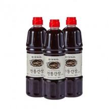 [농업회사법인 안동제비원전통식품(주)] 안동제비원 전통간장 900ml *3개