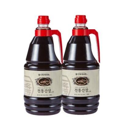 [농업회사법인 안동제비원전통식품(주)] 안동제비원 전통간장 1.8 L *2개