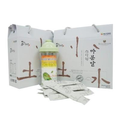 마캐는젊은농부들 부용농산 안동 참마 마분말 실속선물세트(스틱500g×1박스+증정품)