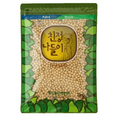 [안동와룡농협] [2019년산]백태 1kg