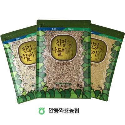 [안동와룡농협] [할인]혼합잡곡 3종 12호 (혼합15곡+기장쌀+팥)