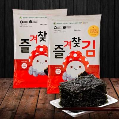 [그린벨트의친구들] 국내산 버섯가루 즐겨찾김 전장김(25g) 15봉