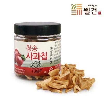 [웰건] 청송명월 청송사과칩