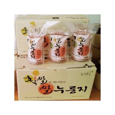 [안동 녹색드림식품] [녹색드림식품] 홍국쌀누룽지 60g x 10봉