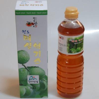 청도 매실액기스 0.9Lx1 (LIQUID PLUM) 풀빛농원 청도반시 선물용 매실 매실엑기스 매실원액 매실즙 매실발효액