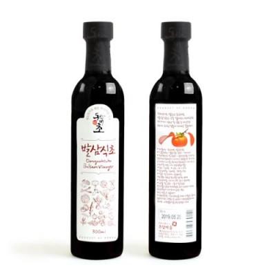 [초담마을] 발삼식초 (300ml) / 스테이크,생선요리 소스 및 샐러드 드레싱