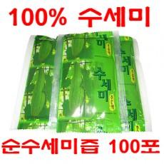 [왕산농원] 왕산 유기농인증 순수세미즙 / 진액(무첨가) 100포 (100ml)