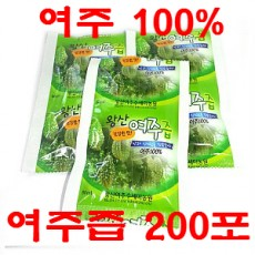[왕산농원] [유기농인증] 왕산 여주즙 200포 (80ml)
