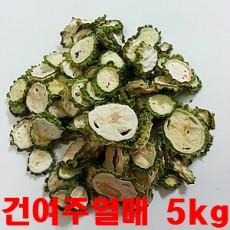 [왕산농원] [유기농인증] 건여주 건여주열매 5kg