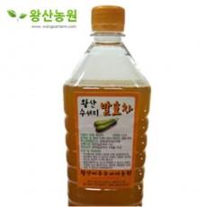 왕산농원|수세미 액기스 (1.5L 1병, 유기농재배)