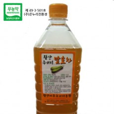 왕산농원|수세미 액기스 (1.5L 3병, 유기농재배)