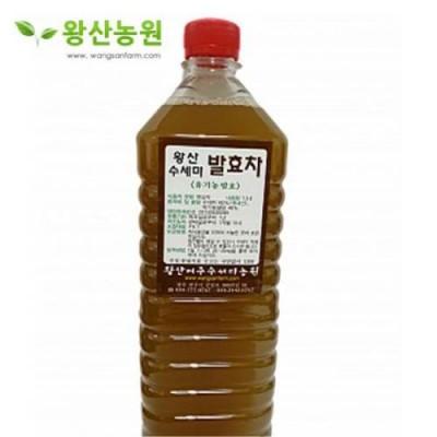 왕산농원 수세미 액기스 유기농 발효 (1.5L 3병, 무농약재배)