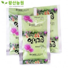 [왕산농원] [유기농인증] 왕산 토종엉겅퀴즙 30포 (90ml)