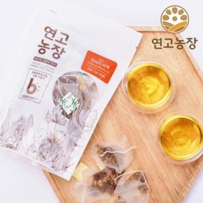 [연고농장]국내산 볶은 진피차 삼각티백