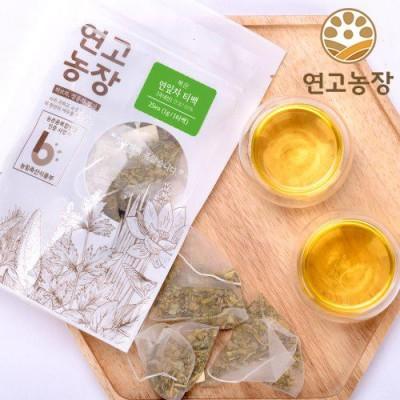 [연고농장]국내산 볶은 연잎차 삼각티백