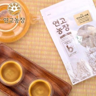 [연고농장]국내산 볶은 연자육차 삼각티백