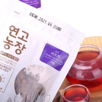 [연고농장]국내산 볶은 비트차 100g/250g