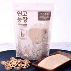 [연고농장] 국내산 연근 자연분말 350g