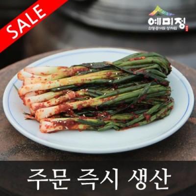 파김치3kg [예미정] (무료배송/100%국산/주문 즉시 생산/할인 이벤트)