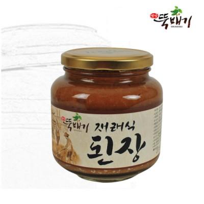 [뚝배기식품] 옛맛뚝배기 재래식된장 0.9kg