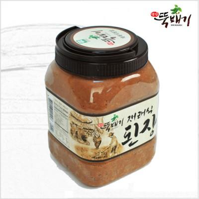 [뚝배기식품] 옛맛뚝배기 재래식 된장2.7kg