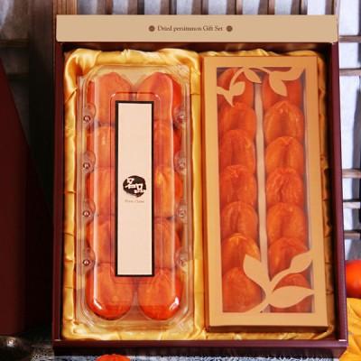 [상주안심곶감영농법인] [명품브랜드][상주안심곶감][건시/반건시 더블세트1.2kg][무료배송][농가직접생산.판매]