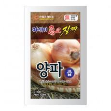 [농업회사법인 대성]  [햇양파 순수100% 원액] / 마시기 좋은 진짜 양파즙 100ml