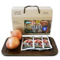 [농업회사법인 대성]  [햇양파 순수100% 원액] / 마시기 좋은 진짜 양파즙 100ml×25포