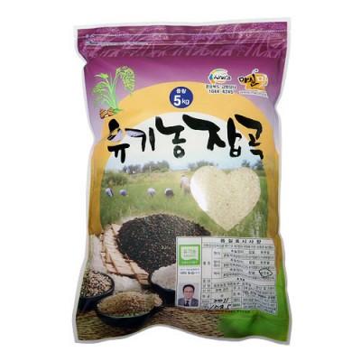 [동원농장] 유기농 동원백미 5kg