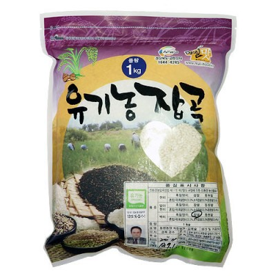 [동원농장] 유기농 찹쌀백미 1kg