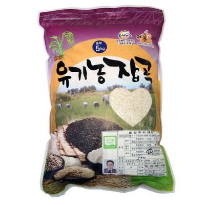 [동원농장] 유기농 찹쌀백미 5kg
