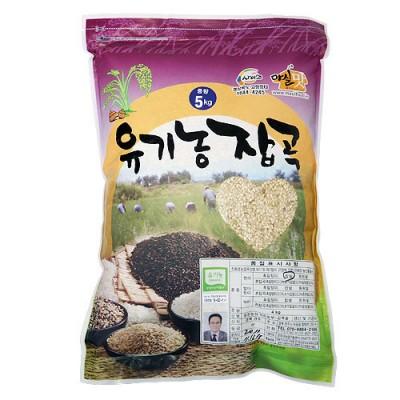 [동원농장] 유기농 찹쌀현미 5kg
