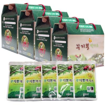 [동원농장] 유기농 꾸지뽕엑기스 A+A형(진액골드)(나무+열매+천연암반수) 4박스(120팩)