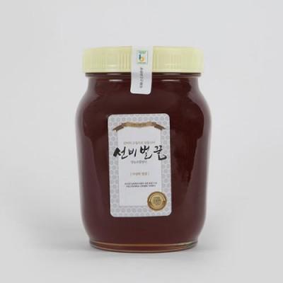 [선비벌꿀 영농조합] 선비벌꿀야생화꿀 [100%국내산] 1.2kg