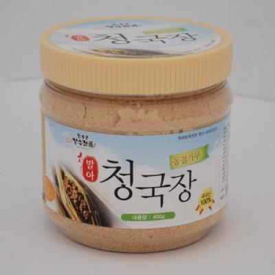 [회룡포 장수진품] 동결진공건조 발아청국장 가루 400g